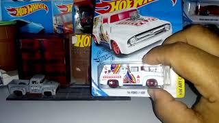 Show de carros 56  Ford f100 miniaturas hot Wheels top pra todos amigos