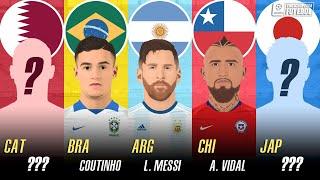 O MELHOR JOGADOR de cada SELEÇÃO | Copa América 2019
