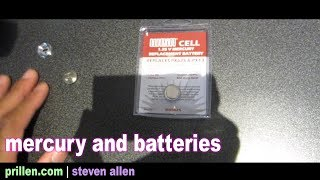 Mercury And Batteries | 26 August 2017