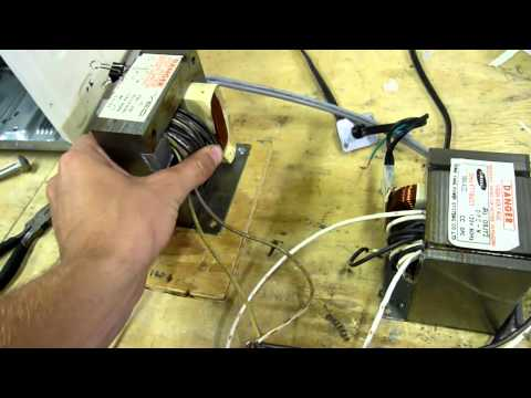 Homemade AC Arc Welder