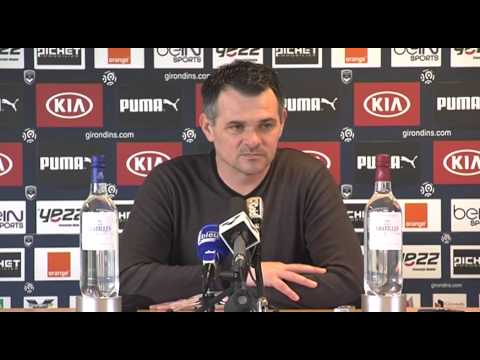 Point Presse - Willy Sagnol - Bordeaux vs Reims