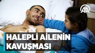 Halepli ailenin duygulandıran kavuşması