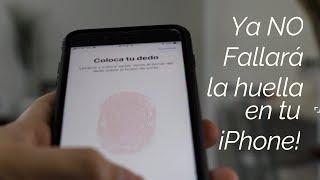 De Esta Manera NO Fallará la Huella en tu iPhone!
