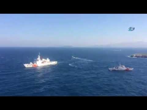 Yunan Bakan Kardak'a Yaklaştırılmadı
