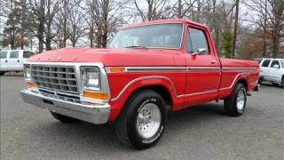 1978 Ford F100 Start Up, Exhaust, and In Depth Tour