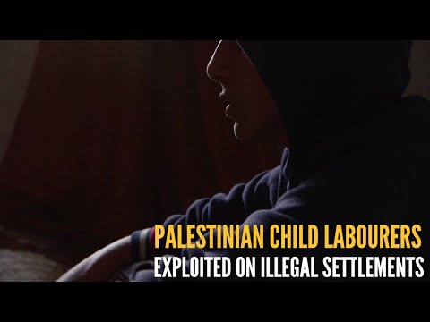 Palestinian Children exploited