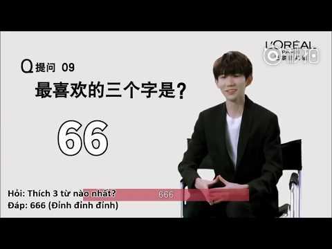 [Vietsub][17.3.2018] Vương Nguyên - Chuyện điên cuồng nhất từng làm?| Phỏng vấn L'Oreal thumbnail