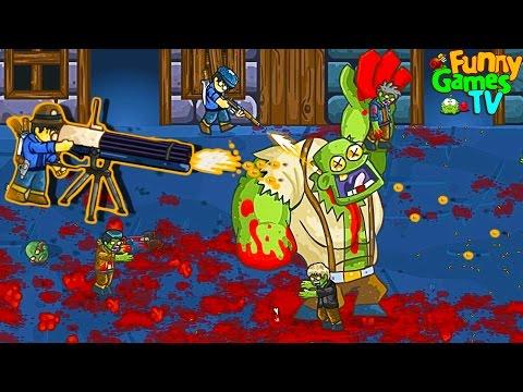 ОГРОМНЫЙ БОСС мульт игра про зомби приключения ВИДЕО для детей про ЗОМБИ GIBS от FGTV