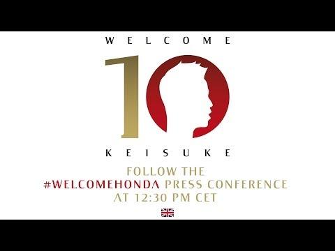 AC Milan | Keisuke Honda - Official Presentation (ENG)
