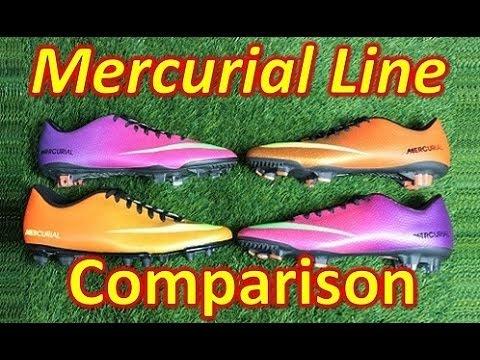 Nike Mercurial Line Comparison - VAPOR 9 vs VELOCE vs VICTORY 4 vs VORTEX