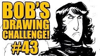 BOB'S DRAWING CHALLENGE #43 - KYLO REN, REY, and STEVE HARVEY