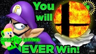 [LUKElcs Reacts] Game Theory: Why You CAN'T Beat Super Smash Bros Ultimate!