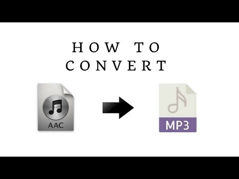 How to Convert AAC audio to MP3 - Audio Converter for Windows