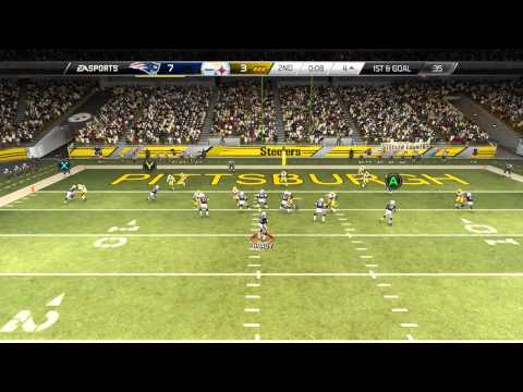 Madden 25::xbox One Gameplay::should Ea Allow This?-patriots Vs. Steelers-online Gameplay Xboxone video
