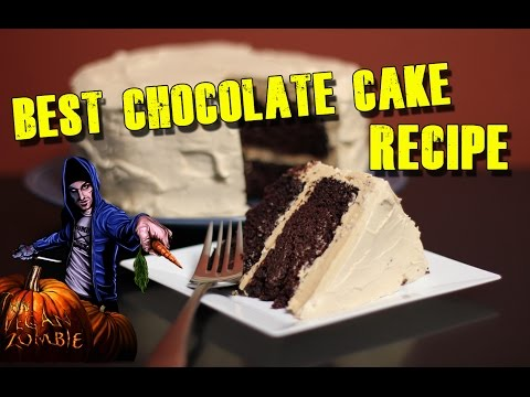 Vegan Chocolate Cake (Wacky)- Cooking with The Vegan Zombie
