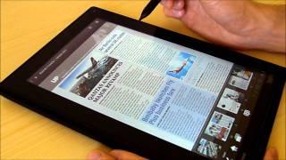 ThinkPad Tablet lekce 14: časopisy Zinio, knihy Kindle