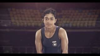 Shout for Babita Kumari at Rio 2016 #NamakKeWaastey