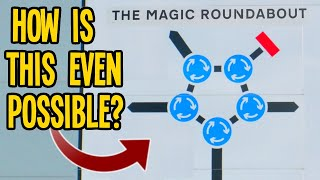 The Impossible SEVEN Roundabout Magic Roundabout CAN work in Cities Skylines!!!