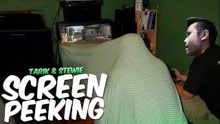 SCREEN PEEKING IN THE TEAM HOUSE (Rank S)