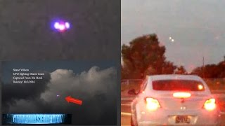 UFO Alien Invasion!!? Multiple UFO Sightings Shake Up UFO Debunkers! 10/3/2016