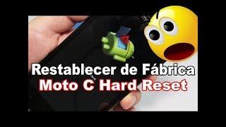 Motorola Moto C trava fica lento pede email e senha como formatar resetar hard reset