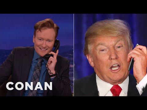 Donald Trump's Post-Iowa Call To Conan  - CONAN on TBS
