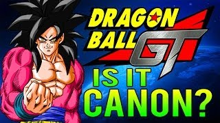 Dragon Ball GT - Is It Canon?