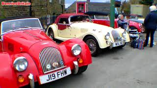 Morgan Sports Car Club at the Crich Tramway Museum