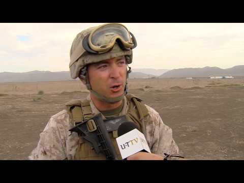 British Army soldiers train with U.S. Marine Corps in San Diego