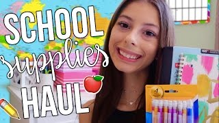 BACK TO SCHOOL SUPPLIES HAUL!!!