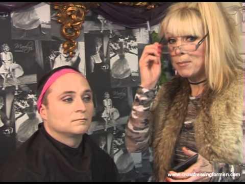 Cross Dressing For Men Presents Eyebrows