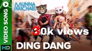 Funny video Ding Dang  Munna Michael 2017 Talking tom version