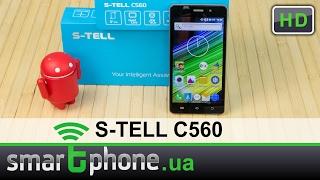 S-TELL C560 - Обзор смартфона за $58