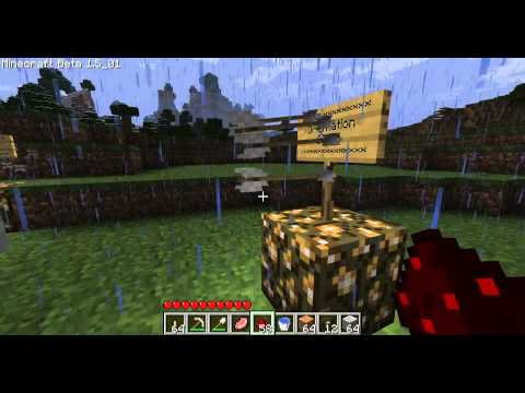 Minecraft - Les MDA 1 Le dispenser