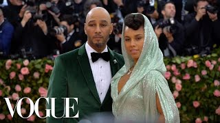 Alicia Keys and Swizz Beatz's Met Gala Date Night | Vogue