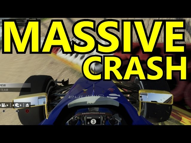 F1 2015 Road To League 1 - Episode 11  HUGE CRASH OUTTA NOWHERE!