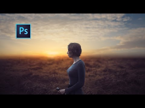 Photoshop cc Tutorial- How to Edit outdoor Portrait photography