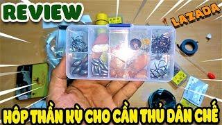Review Hộp Thần Kỳ Cho Dân Chế Cần Thủ lazada   Văn Hóng