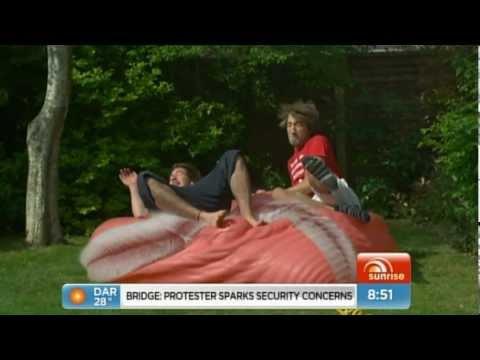 Gavin Free on Australian breakfast show