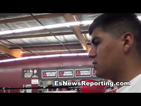 sparring at the robert garcia boxing academy EsNews