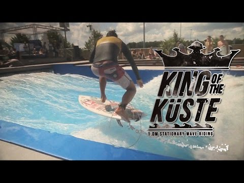 SURF in a POOL | KING OF THE KUSTE | Stationary Waveriding