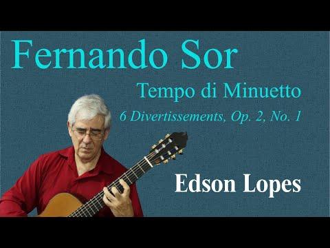 Fernando Sor - Opus 2 No 1 Minuet In G