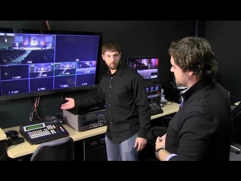 DVTV - Tour of a Multicam HD Production Studio for Live Broadcast Television