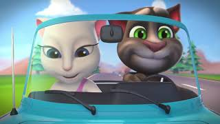 Talking Tom Shorts ep.20 - Hit the Road