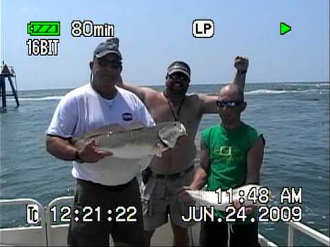 Murrells Inlet/Myrtle Beach Fishing Video