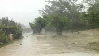 Flooding in St Maarten