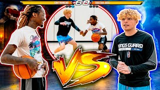 Hooper VS Rapper 1v1 Basketball (Gone Wrong)