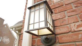The Kuna porch light