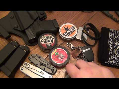 Edc Update : Late January 2015 (new Knife, Holster, & dip ?) video