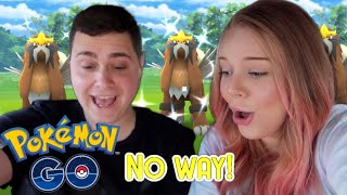 SHINY ENTEI RAID DAY! Pokémon Go Vlog Feat. Tslayers